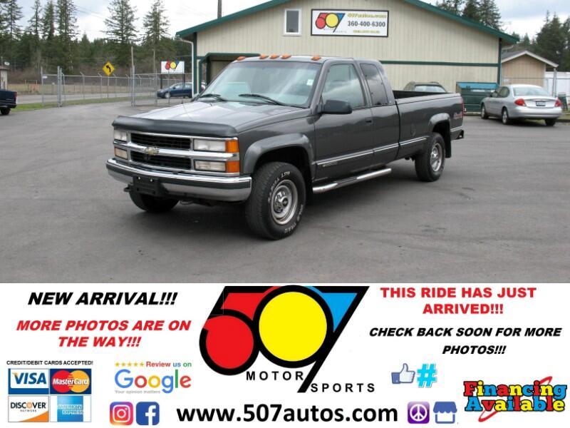 1999 Chevrolet C/K 2500 HD Ext Cab 155.5