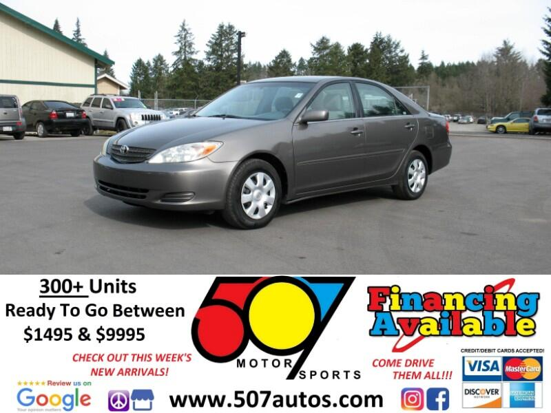 Toyota Camry 4dr Sdn XLE Auto (Natl) 2004