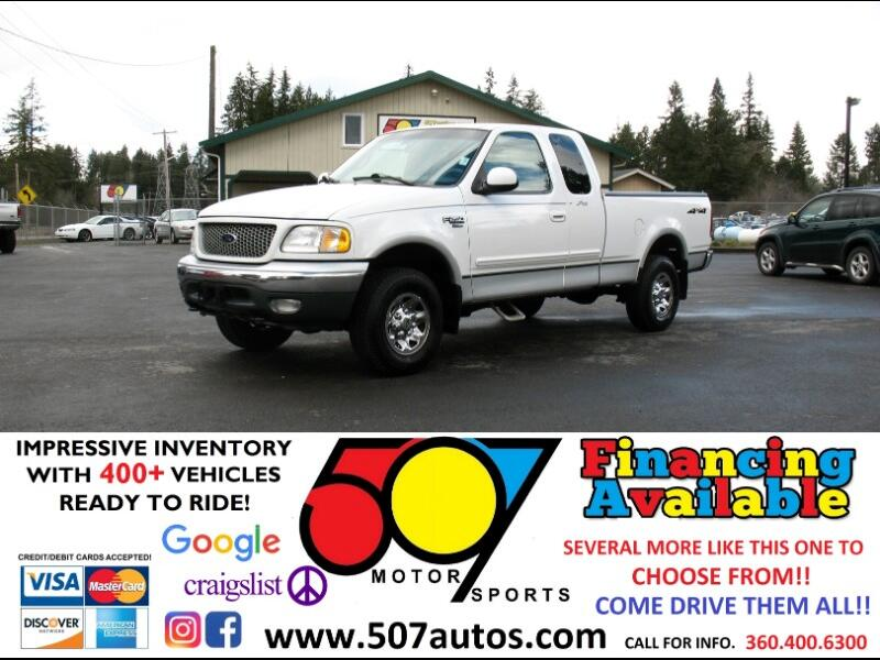 "1999 Ford F-250 Supercab 139"" 4WD"