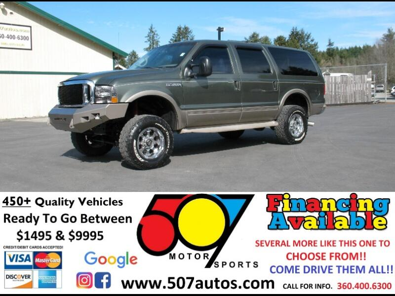 2000 Ford Excursion Limited 6.8L 4WD