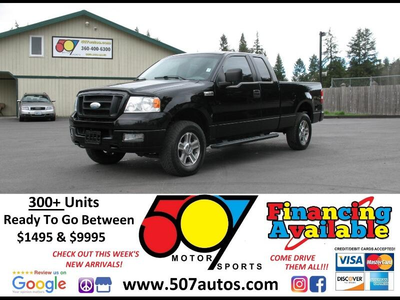 "2005 Ford F-150 Supercab 133"" XLT 4WD"