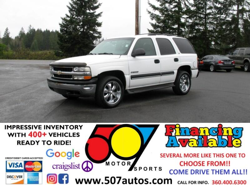 2001 Chevrolet Tahoe 4dr 4WD LS