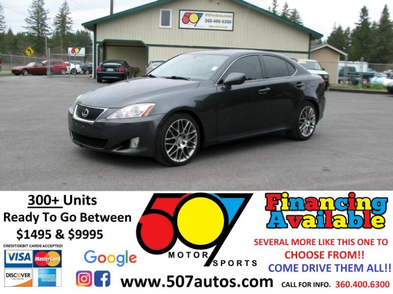 2007 Lexus IS 350 4dr Sport Sdn Auto