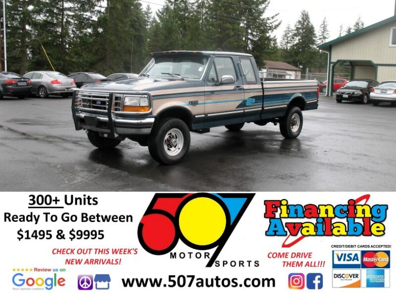 1994 Ford F-250 XL SuperCab 4WD