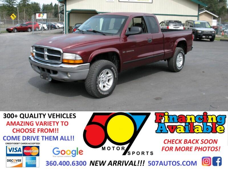 "2001 Dodge Dakota Club Cab 131"" WB 4WD Sport"