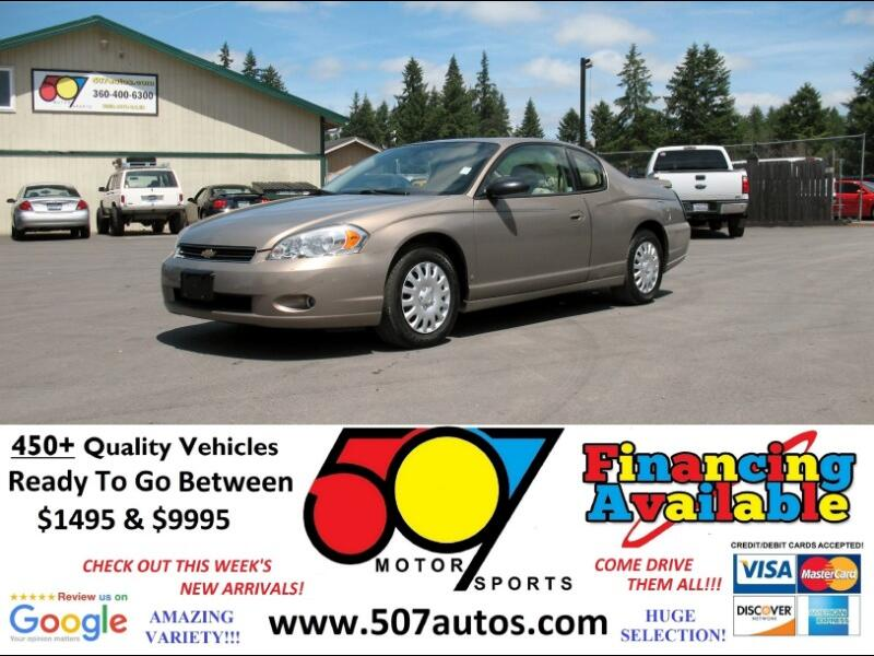 2006 Chevrolet Monte Carlo 2dr Cpe LTZ