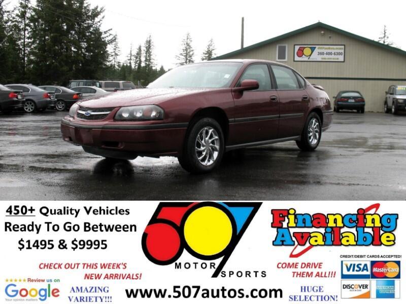 2001 Chevrolet Impala 4dr Sdn