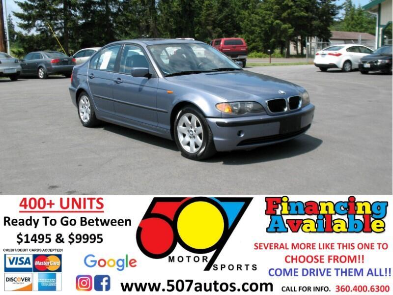 BMW 3 Series 325i 4dr Sdn RWD 2005