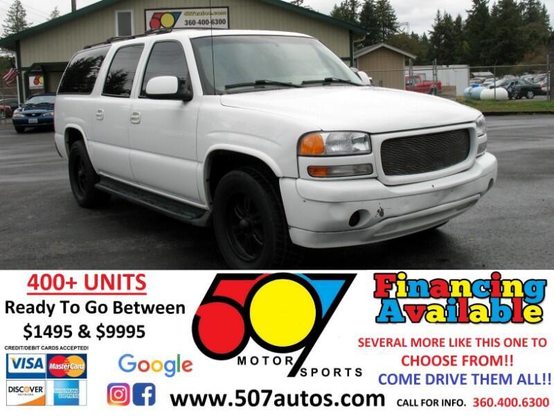 GMC Yukon XL 4dr 1500 4WD SLT 2001