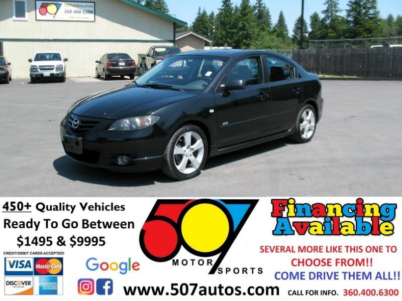 2005 Mazda MAZDA3 4dr Sdn s Manual