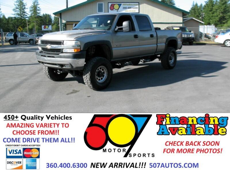 """2002 Chevrolet Silverado 2500HD Crew Cab 153"""" WB 4WD"""