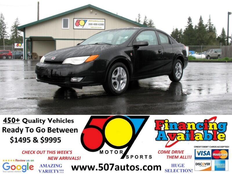 2003 Saturn ION ION 3 Quad Cpe Manual