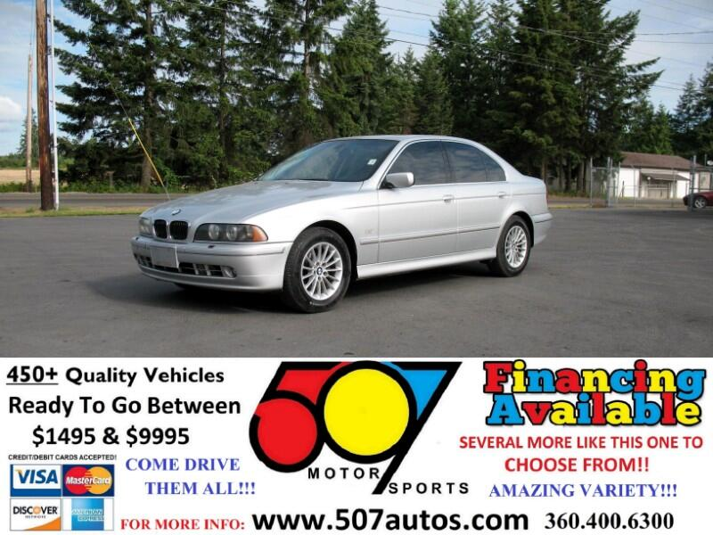 2003 BMW 5 Series 540iA 4dr Sdn 5-Spd Auto