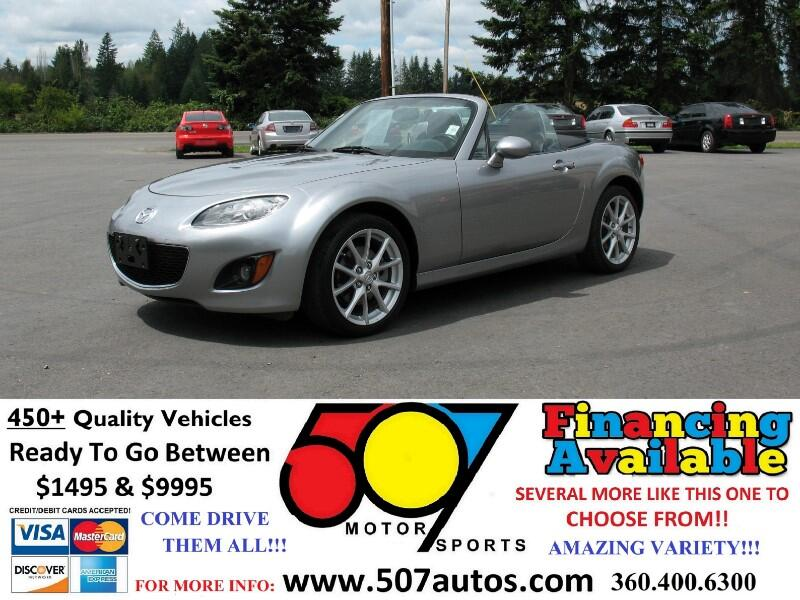 2010 Mazda MX-5 Miata Grand Touring Coupe