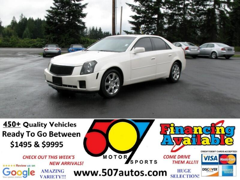 Cadillac CTS 4dr Sdn 3.6L 2007