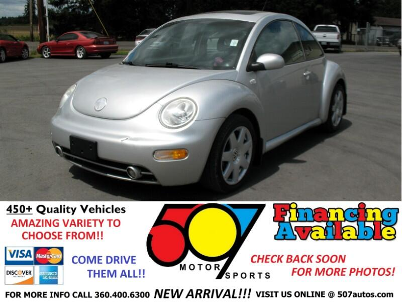 2001 Volkswagen New Beetle 2dr Cpe GLX Turbo Auto