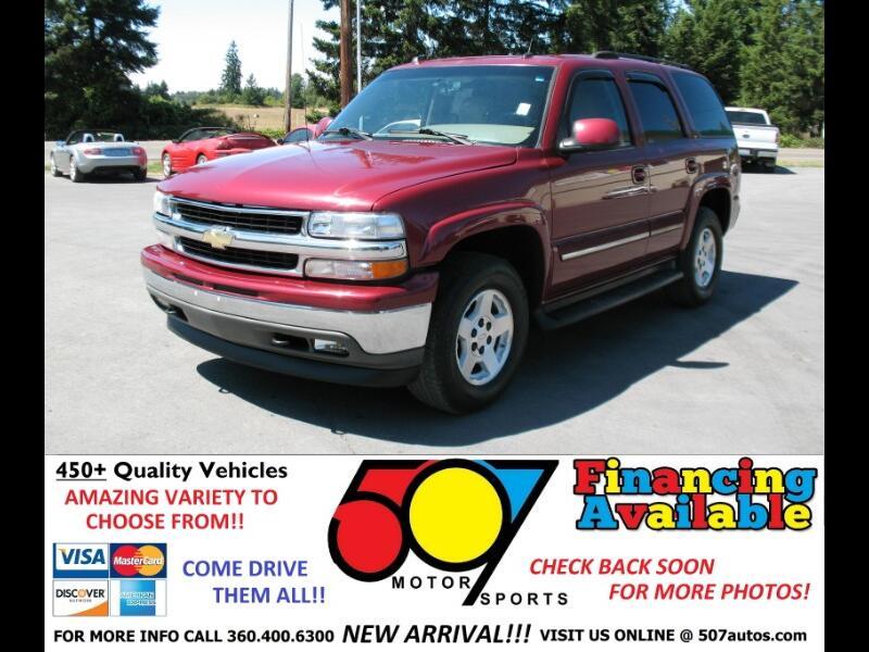 Chevrolet Tahoe 4dr 1500 4WD LT 2005