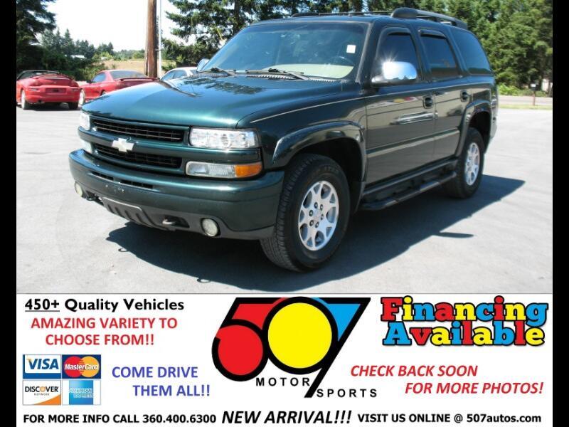 2002 Chevrolet Tahoe 4dr 1500 4WD Z71