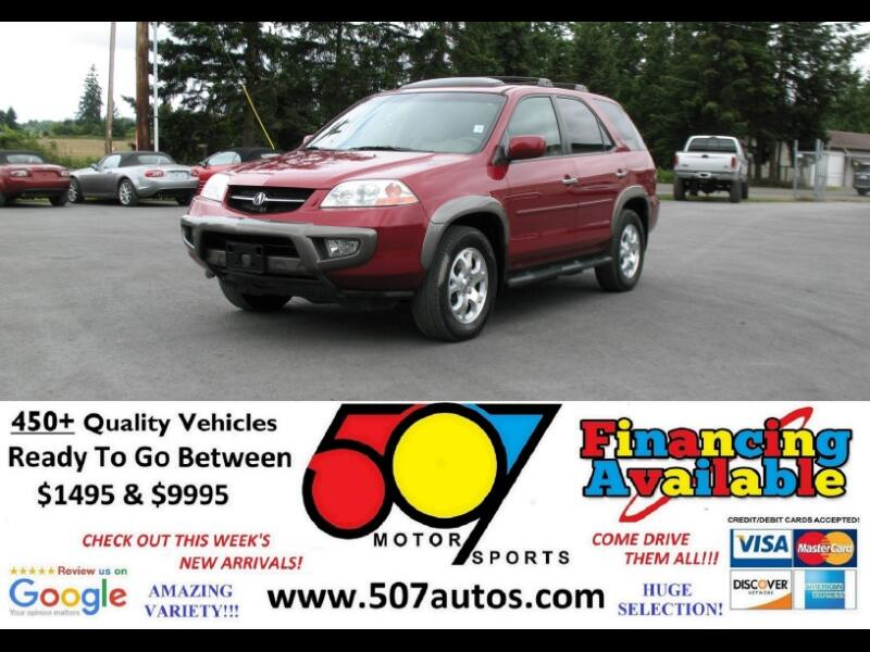 2002 Acura MDX 4dr SUV Touring Pkg w/Navigation