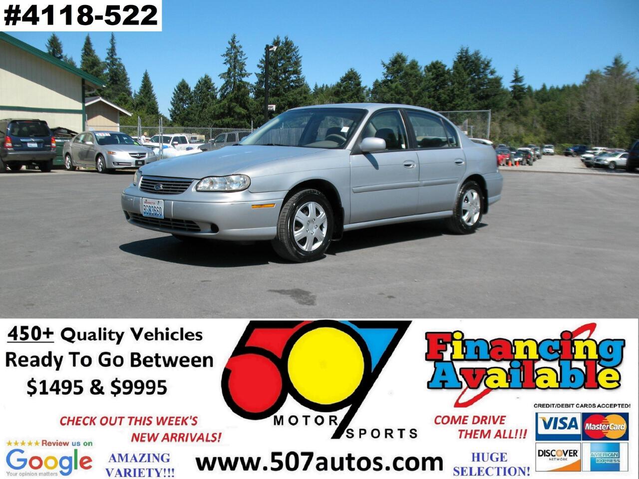 Chevrolet Malibu 4dr Sdn 1998