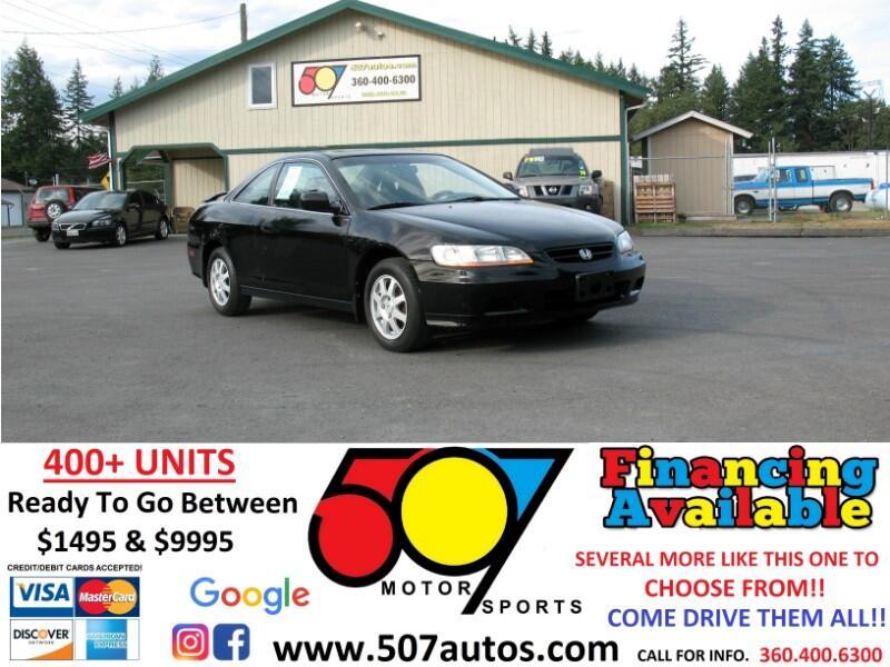 2002 Honda Accord Cpe SE Auto