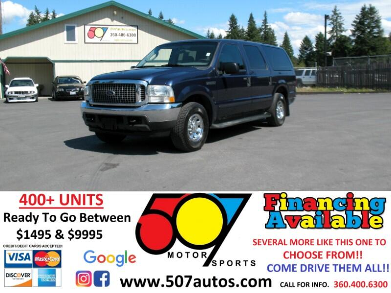 "2004 Ford Excursion 137"" WB 5.4L Special Serv"