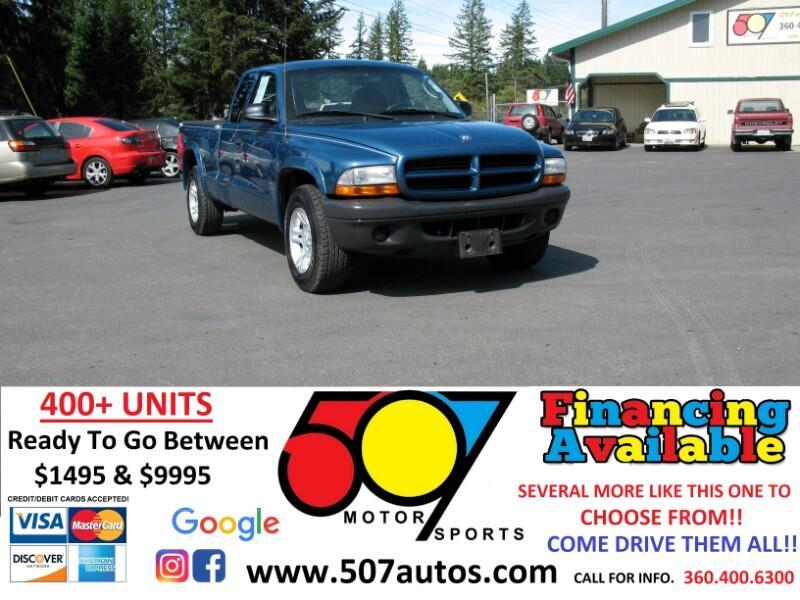 """Dodge Dakota 2dr Club Cab 131"""" WB Base 2003"""