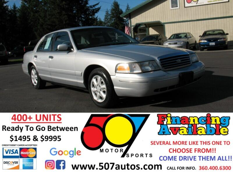 1999 Ford Crown Victoria 4dr Sdn
