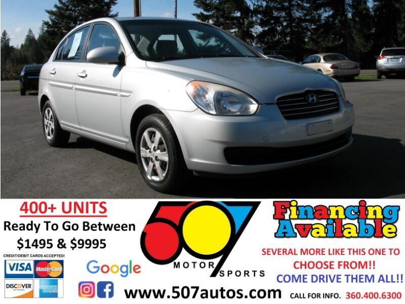 Hyundai Accent 4dr Sdn Man GLS 2008