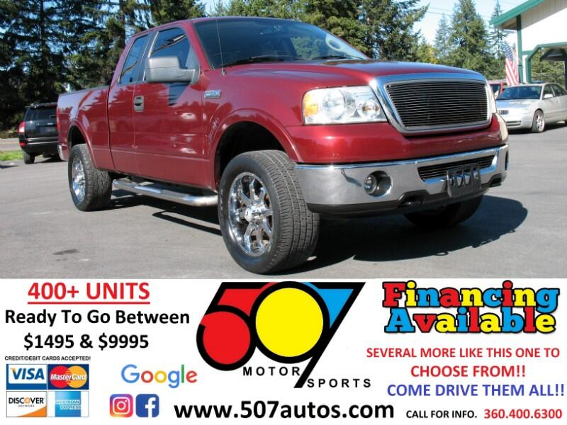 "Ford F-150 4WD SuperCrew 150"" Lariat 2006"