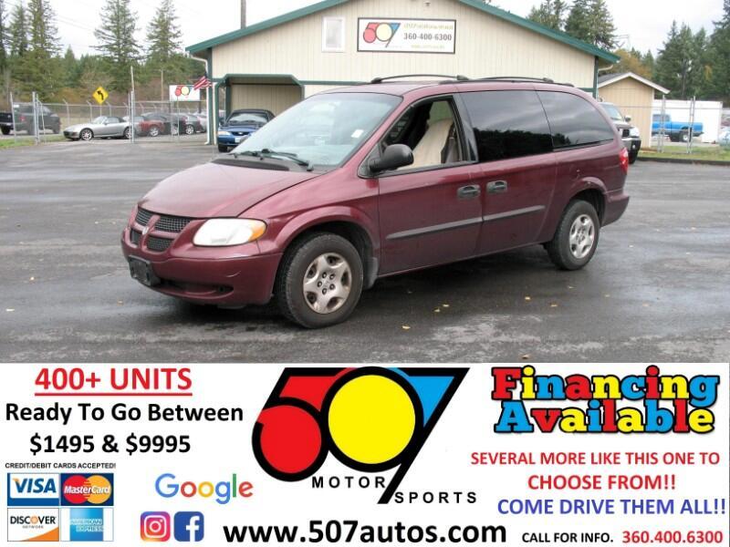 "Dodge Caravan 4dr Grand SE 119"" WB 2003"