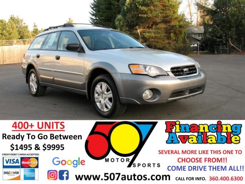 Subaru Legacy Wagon (Natl) Outback 2.5i Auto 2005