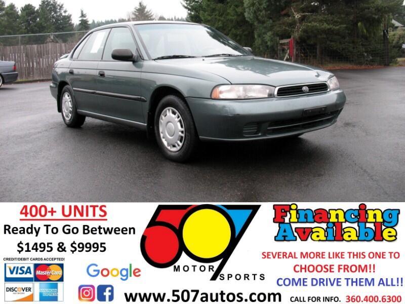 Subaru Legacy Sedan 4dr Sedan Auto AWD L w/DQ Equipment 1995