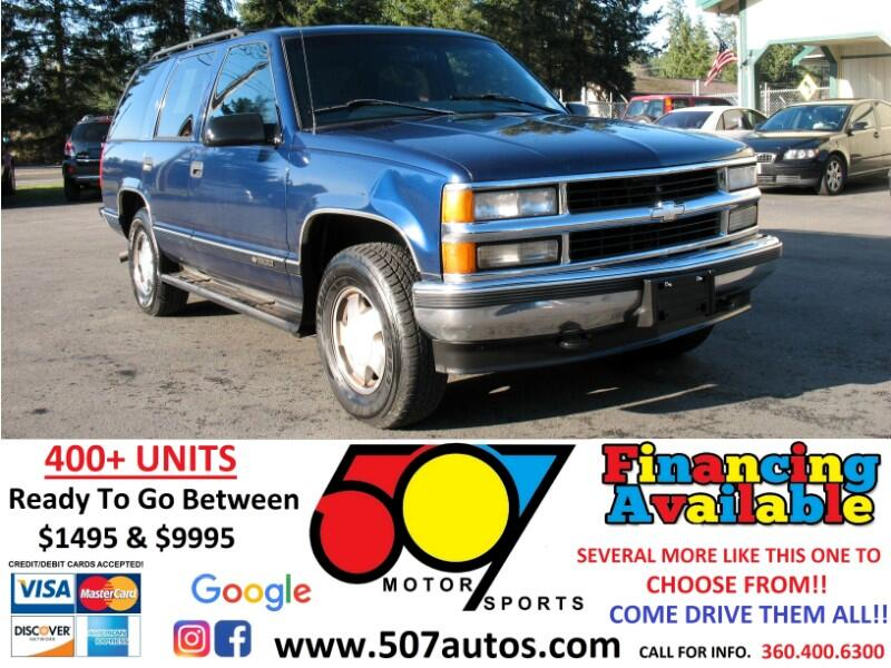 Chevrolet Tahoe 1500 4dr 4WD 1997