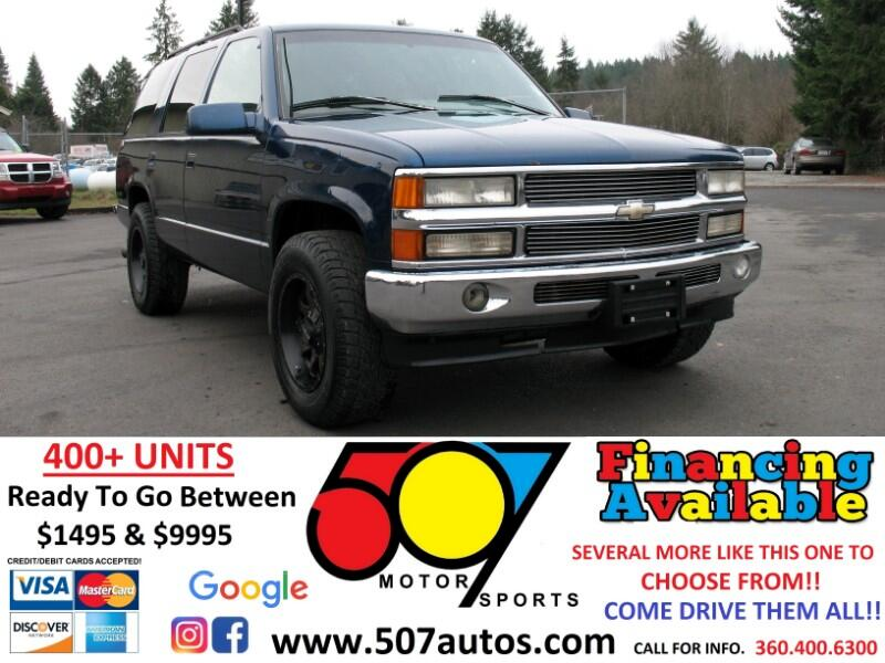 Chevrolet Tahoe 1500 4dr 4WD 1996