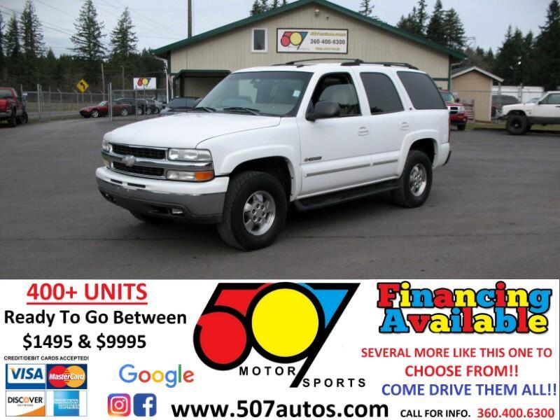 Chevrolet Tahoe 4dr 1500 4WD LT 2003