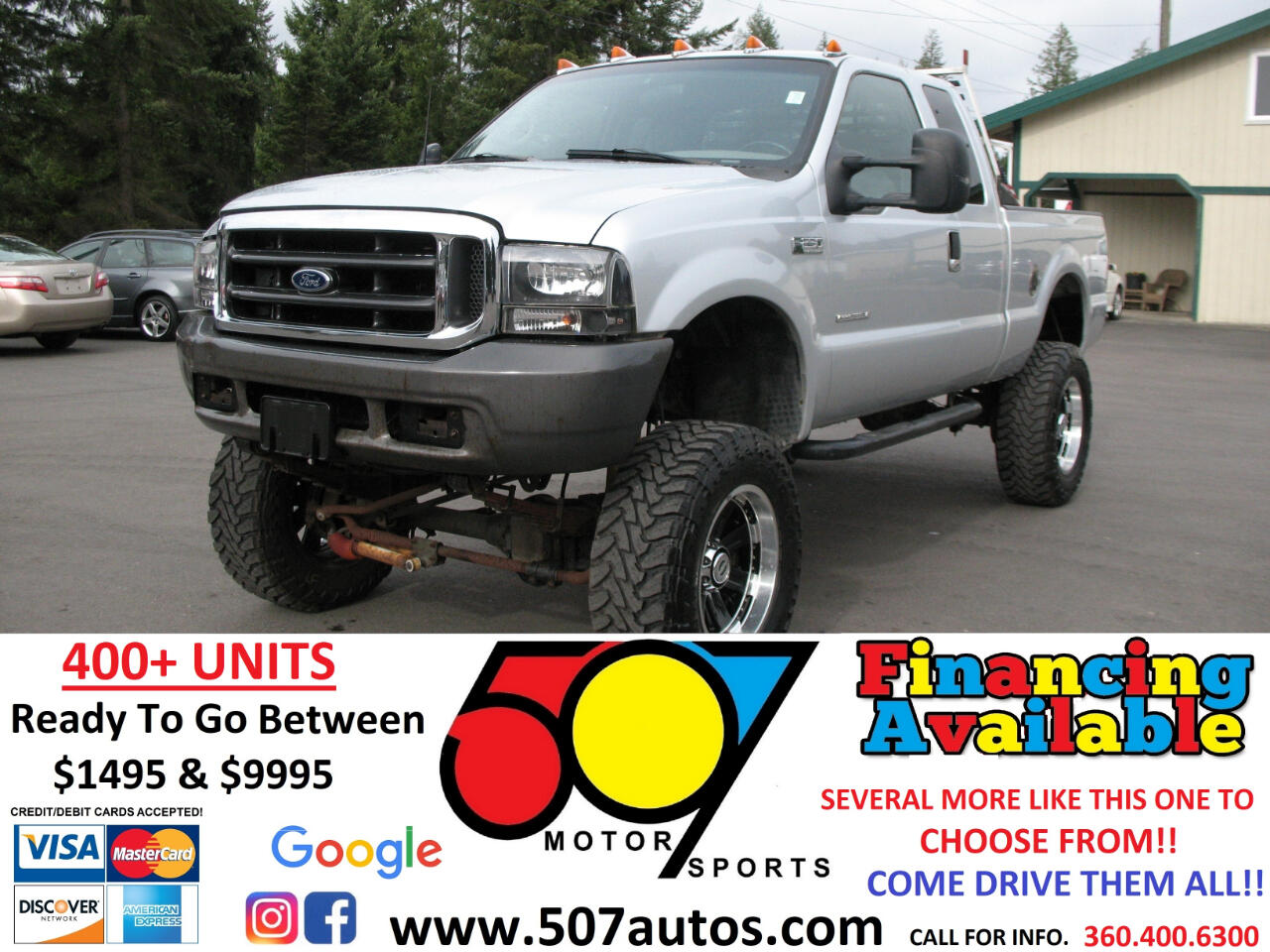 """Ford Super Duty F-250 Supercab 142"""" Lariat 4WD 1999"""