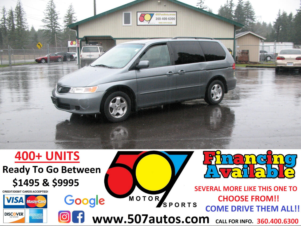Honda Odyssey 5dr 7-Passenger EX 1999