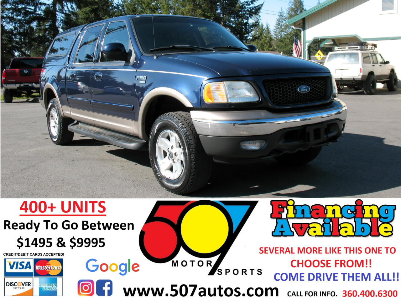 "Ford F-150 SuperCrew 139"" XLT 4WD 2003"