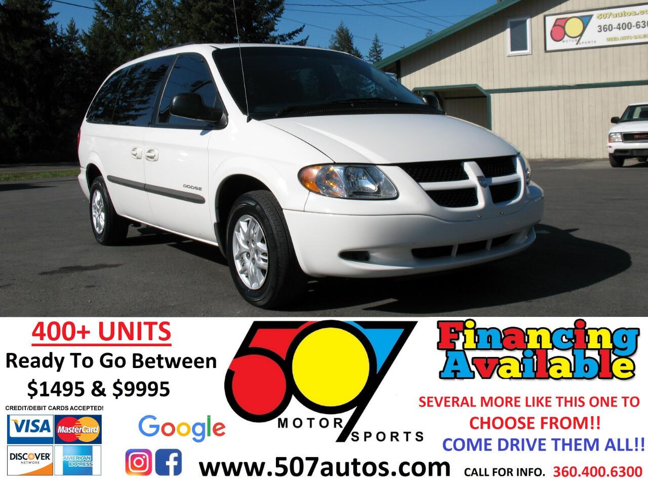 """Dodge Caravan 4dr Grand Sport 119"""" WB 2001"""