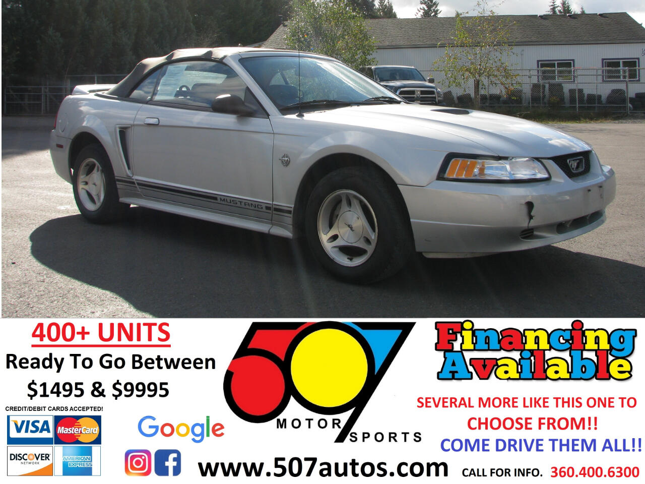 Ford Mustang 2dr Convertible 1999