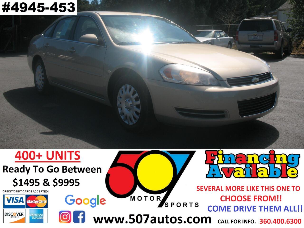 Chevrolet Impala 4dr Sdn LS 2008
