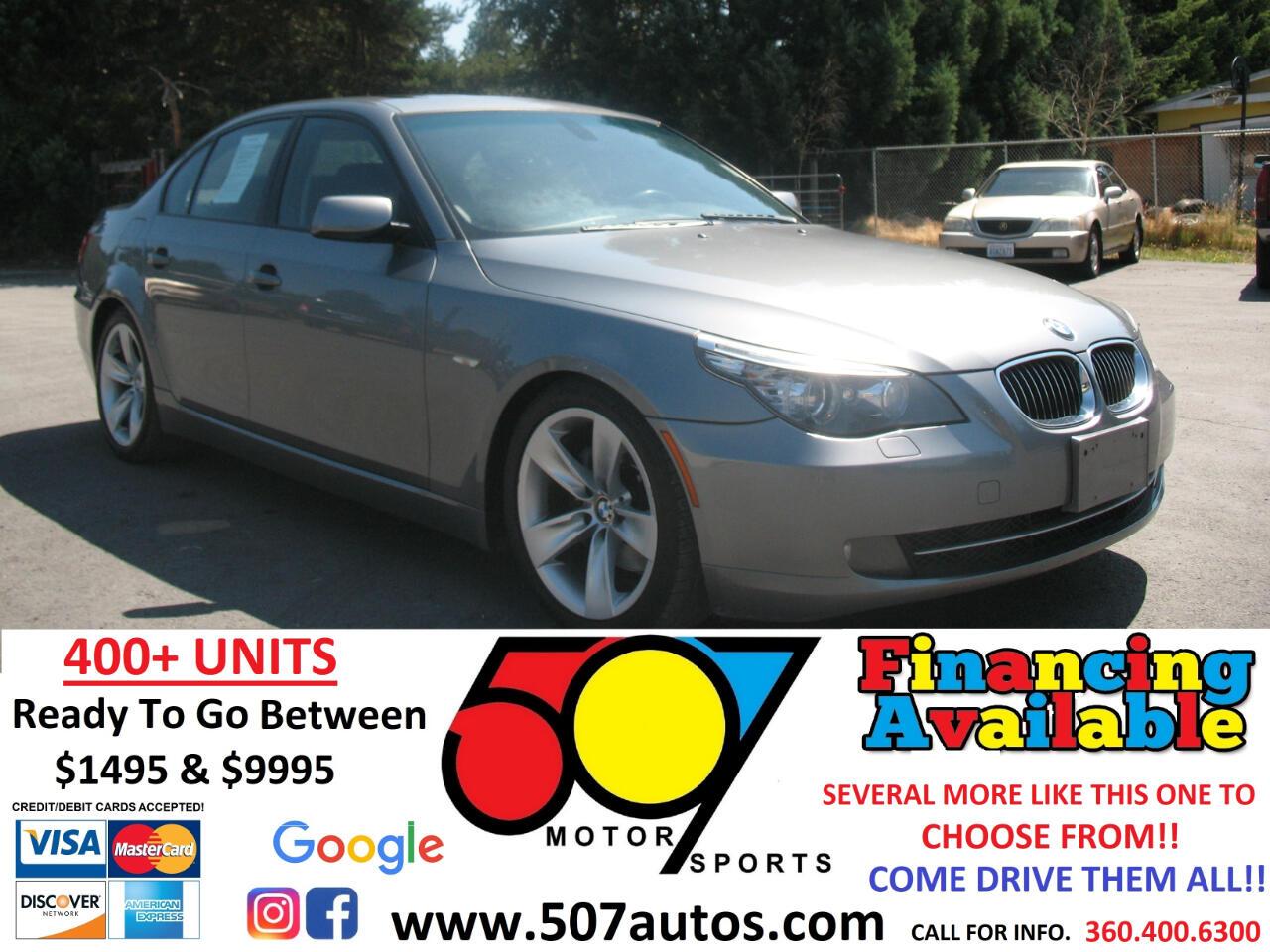BMW 5 Series 4dr Sdn 528i RWD 2008