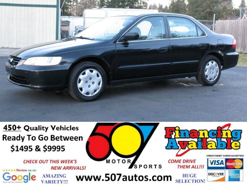1998 Honda Accord LX sedan