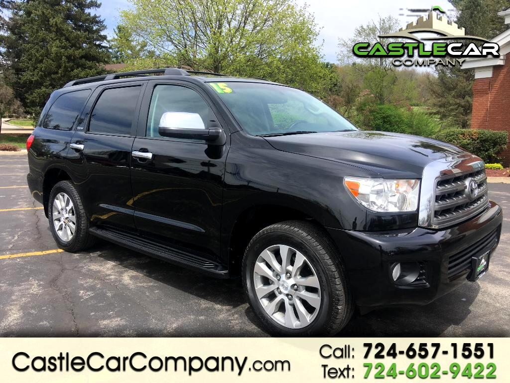 2015 Toyota Sequoia 4WD 5.7L Limited (Natl)