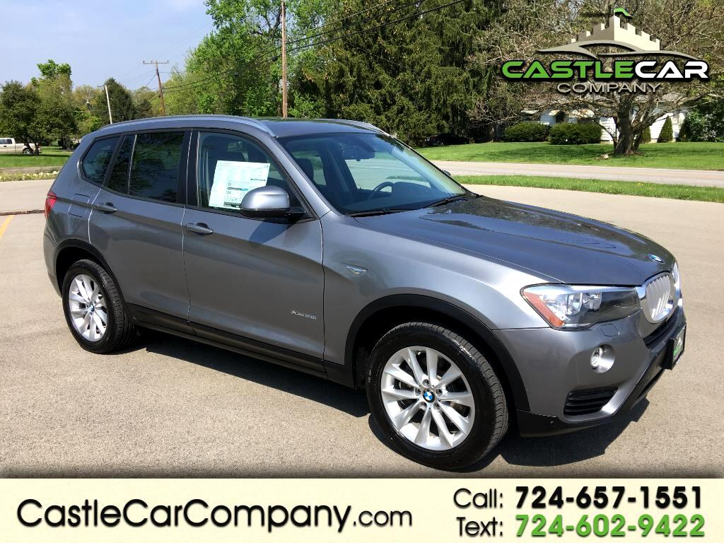 2017 BMW X3 xDrive28i Sports Activity Vehicle