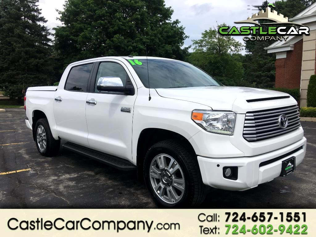 2016 Toyota Tundra 4WD Truck CrewMax 5.7L V8 6-Spd AT Platinum (Natl)