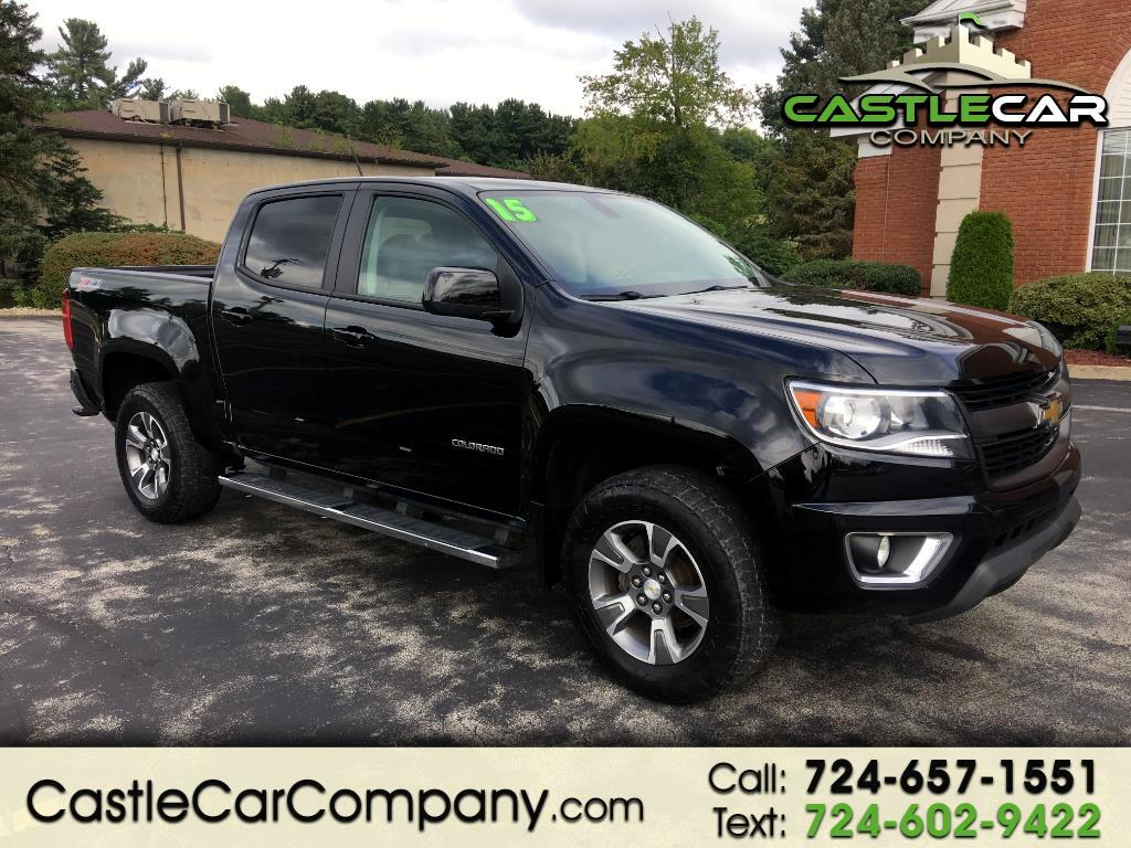 "2015 Chevrolet Colorado 4WD Crew Cab 128.3"" Z71"