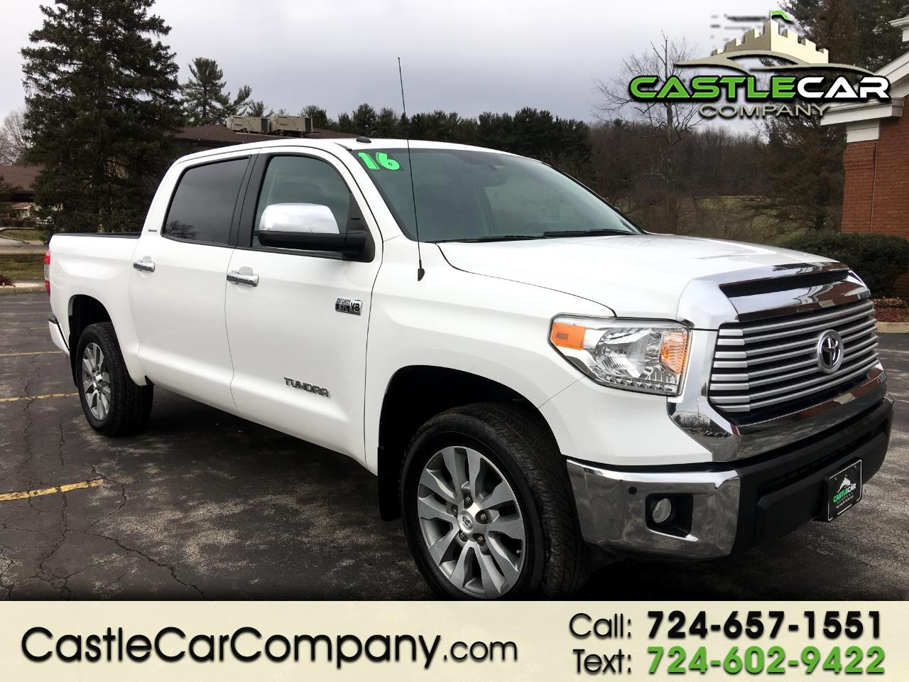 2016 Toyota Tundra 4WD Truck CrewMax 5.7L V8 6-Spd AT LTD (Natl)