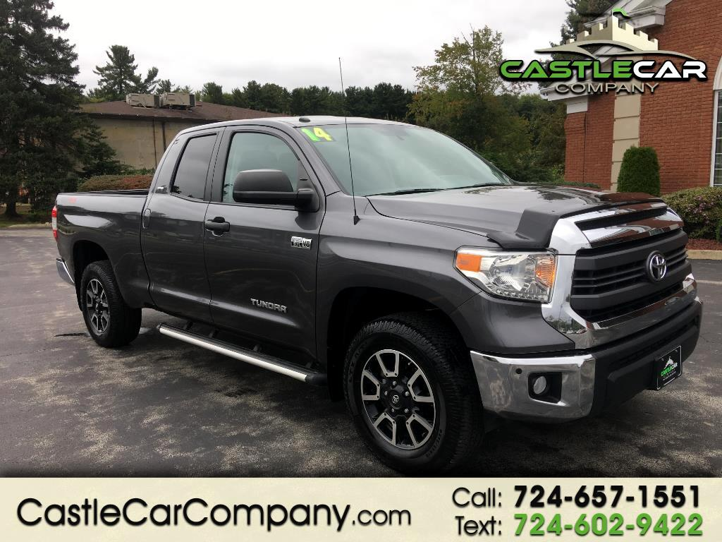 2014 Toyota Tundra 4WD Truck Double Cab 5.7L V8 6-Spd AT SR5 (Natl)
